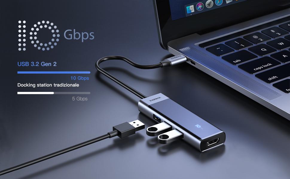 USB 3.2 GEN 2 HUB