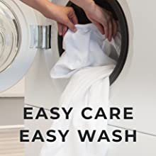 easy care, easy wash