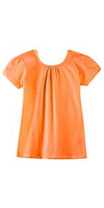 Girls Criss Cross Back T-Shirts