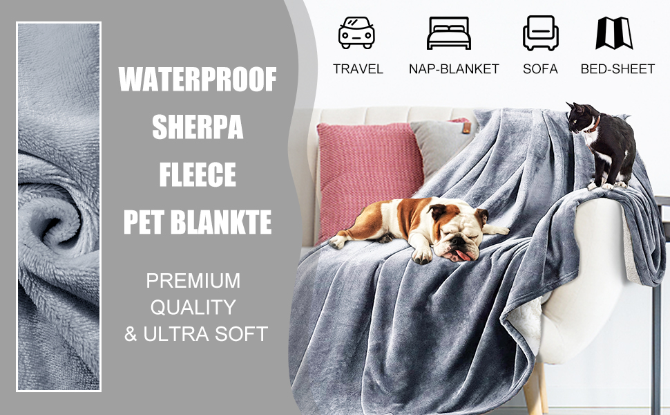 waterproof dog blanket for couch bed sofa car waterproof pet blanket for couches and sofas