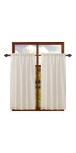 burlap curtains 84 inch