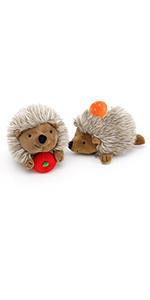 Squeaky Hedgehog Shaped Plush Toys