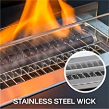 STAINLESS STEEL WICK
