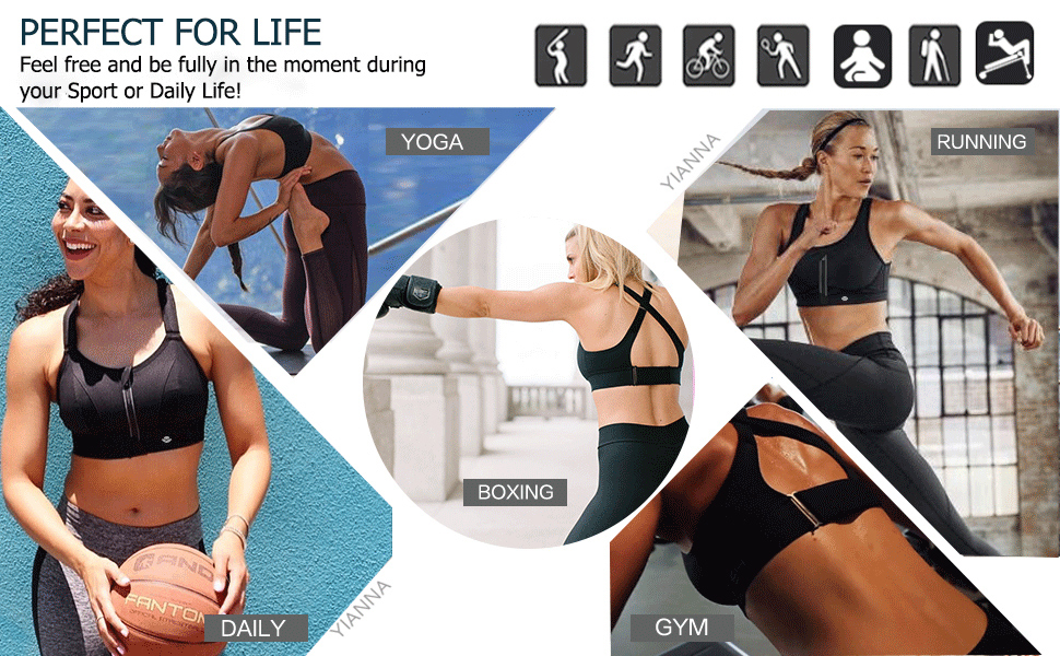 sports bras women high impact