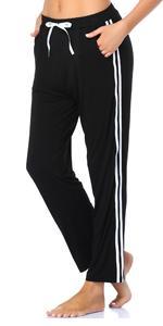 T619A Black Lounge Pants