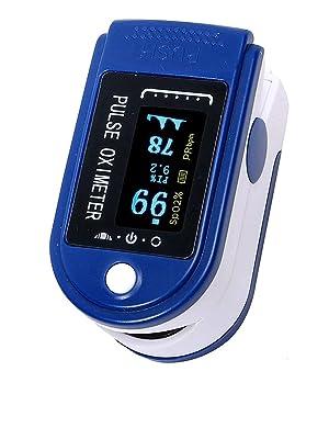 Finger Tip Pulse Oximeter Measures SPO2 Pulse Rate finger pulse oximeter portable fingertip