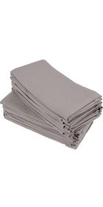cloth dinner napkins bulk set of 24 cotton bend machine washable