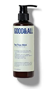GOODamp;amp;amp;ALL tea tree mint conditioner for itchy scalp and dandruff