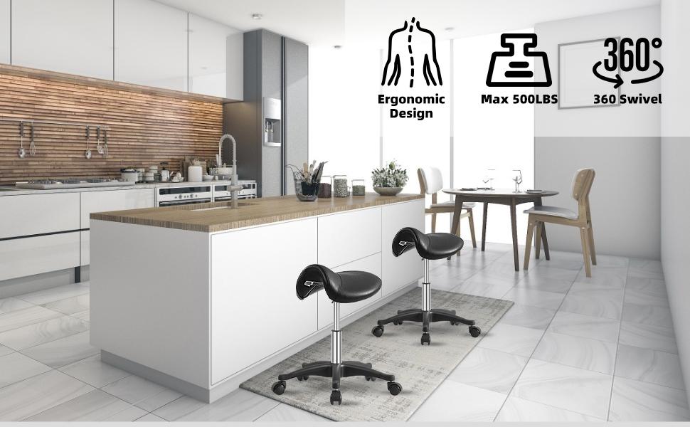 saddle stool for kitchen