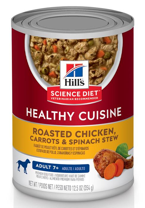 Adult 7+, Healthy Cuisine, Wet Dog Food