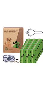 Thicken  Poop Bags/Dog Poop Bag/Degradable Poop Bags for Pets/Dog Poop Bag Holder