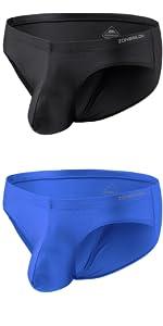 Black Thong Underwear for Men