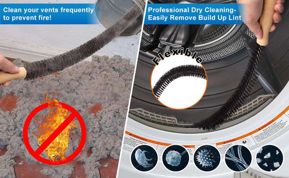 Dryer Vent Cleaner Kit