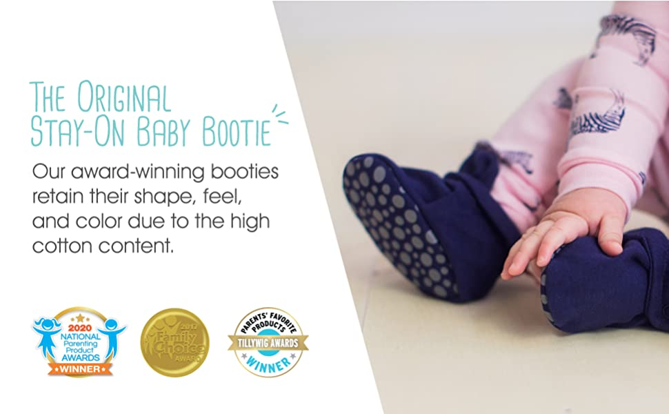 The Original Stay-On Baby Bootie