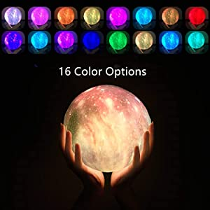 16 colors galaxy lamp