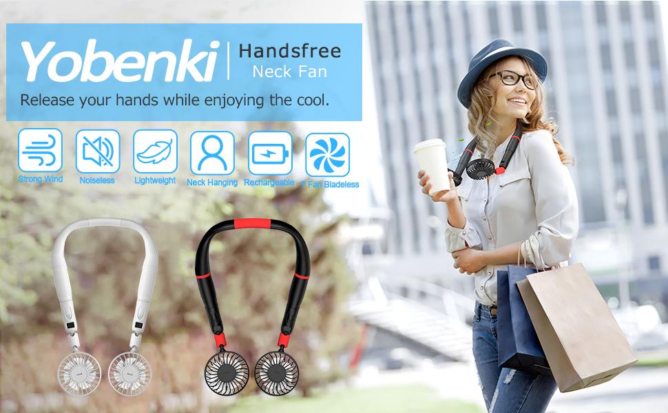 Handsfree Portable Fan