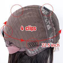 human hair wigs details