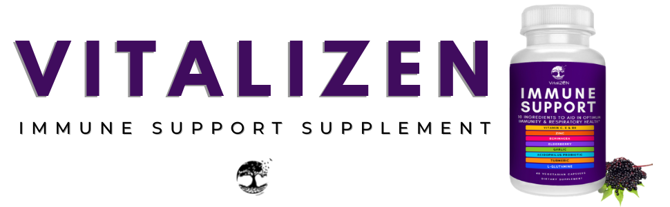 Logo VitaliZEN Immune Support Supplement