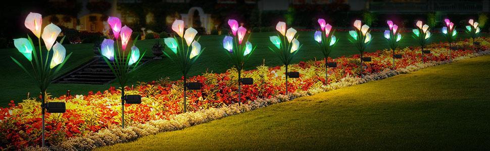 Solar Flower Lights
