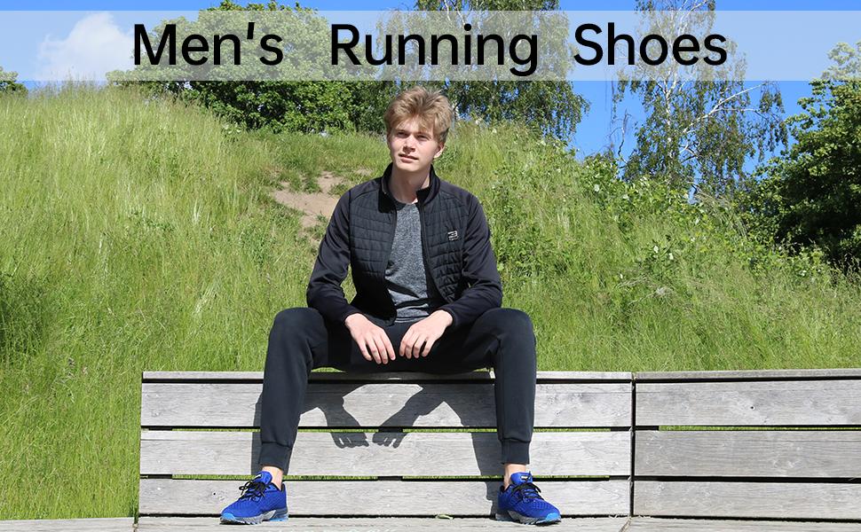 mens air running sneakers