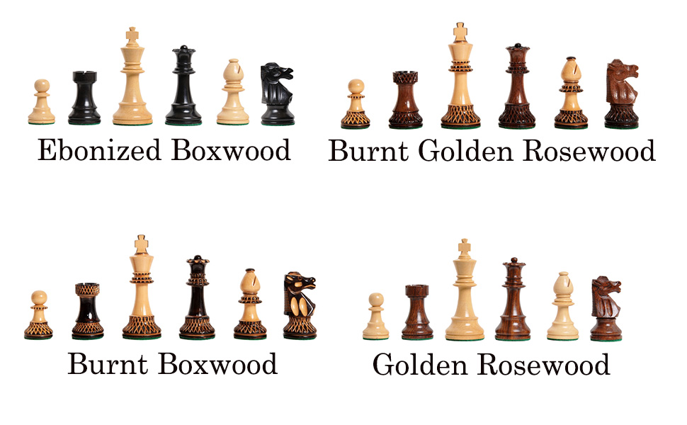 """Club Series Chess Pieces - 3.75"""" King"""