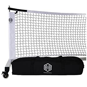 Aluminum Portable Pickleball Net with Carry Bag