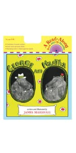 Two lovable hippos teach the meaning of friendship in five separate vignettes with a read-along CD.