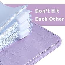 small 6 ring cash binder a6 zipper pouch bill payment organizer