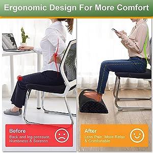 footrest under desk foot rest stool otttoman footstool