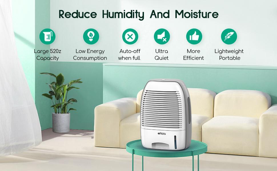 Afloia dehumidifier for home