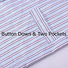 button down amp; two pockets