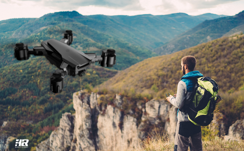 HR H3 Drone with Camera for adults