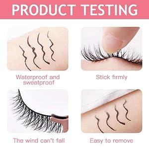 Safe and gentle magnetic  eyelashes