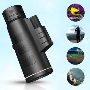 monocular telescope monocular for kids telescope for adults handheld telescope for smartphone