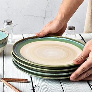 stoneware dinnerware set bowls and plates set