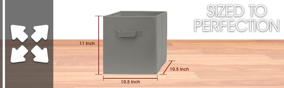 Storage cube bins