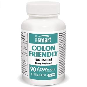 Supersmart COLON FRIENDLY 4 Billion CFU Per Day 90 DR Capsules