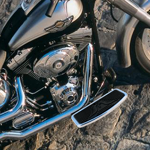 Adjustable Motorcycle Floorboards