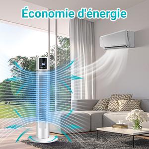 Moteur à fréquence variable CC, économie d'énergie