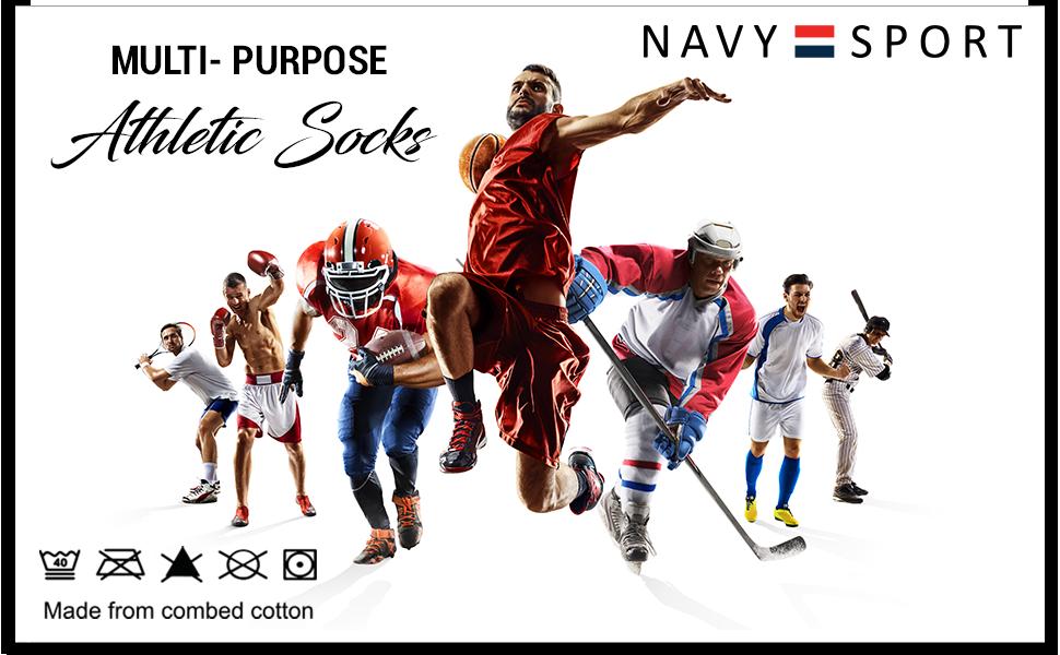 NAVYSPORT Socks