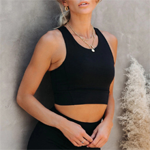 Soft strappy sports bra