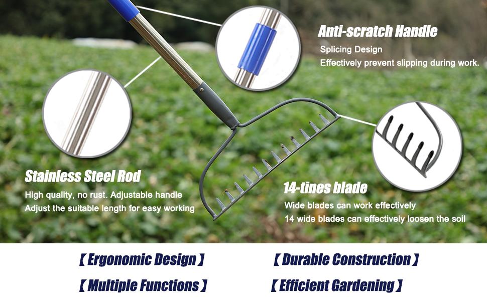 rake details
