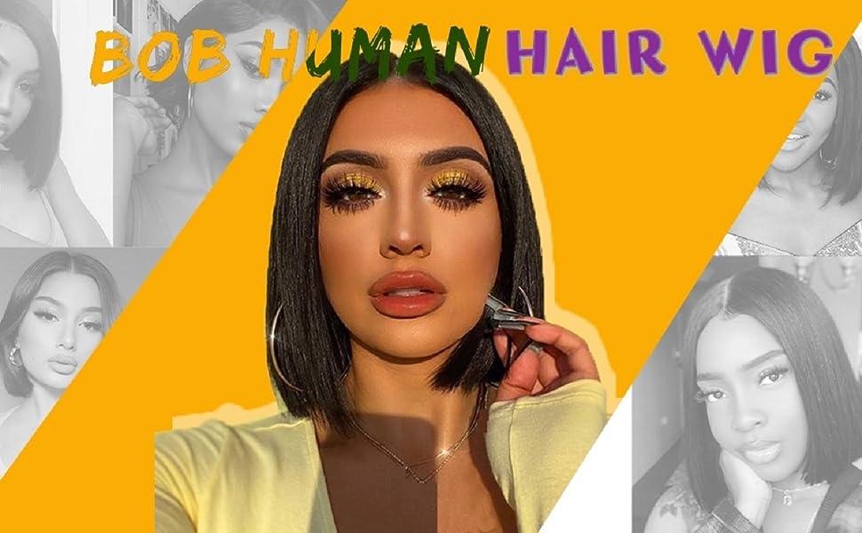 bob wig human hair