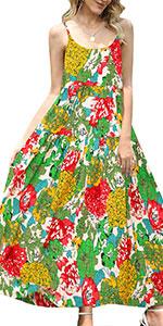 Summer casual Bohemian Slip Dress