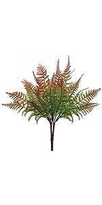 Artificial Red Fern