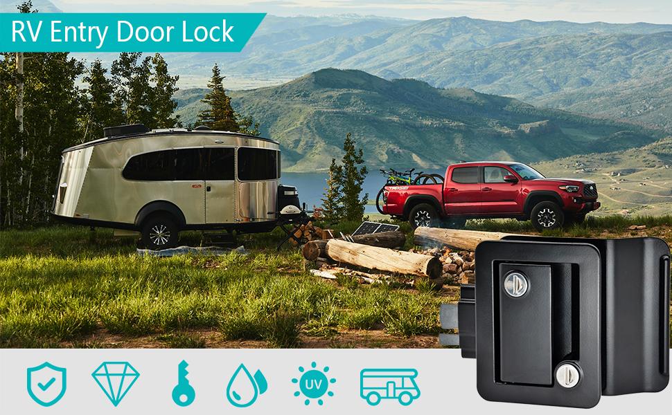 RV Door Lock