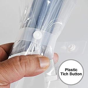 plastic tich button