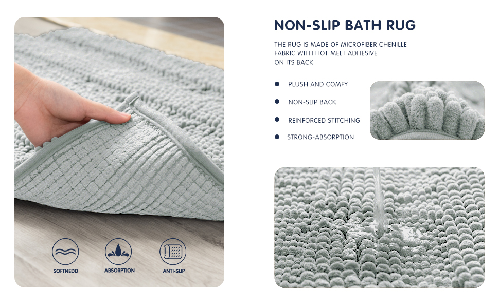 ouka bath rug-grey