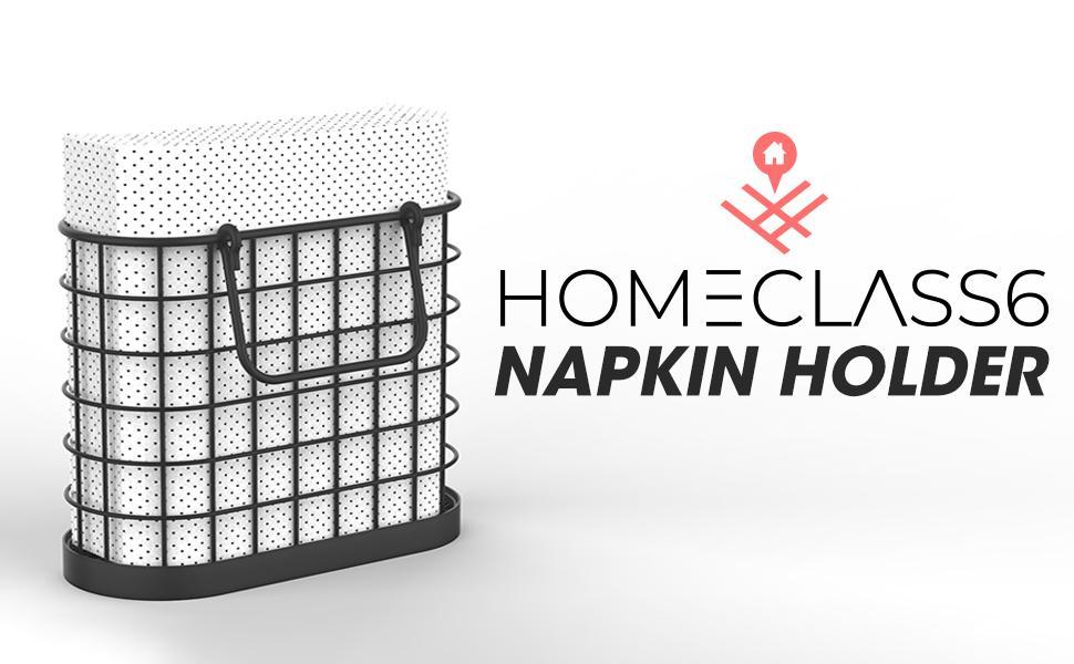 Vintage Napkin Holder for Kitchen Farmhouse Decor