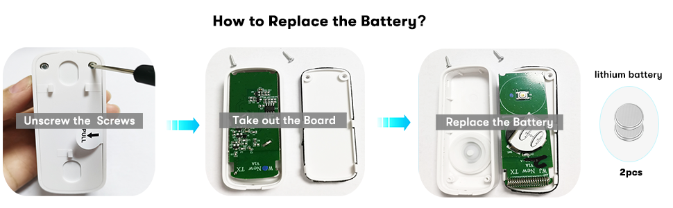 how to replace the battery